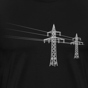 Overland power pole white Shirt - Men's Premium T-Shirt