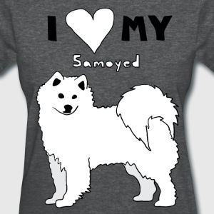 i heart my samoyed Women's T-Shirts - Women's T-Shirt