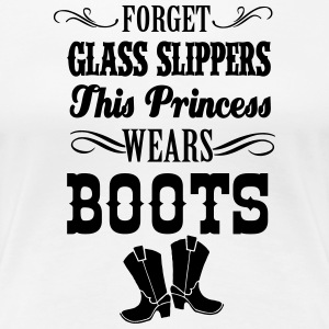 Country Thang-Forget Glass Slippers Women's T-Shirts - Women's Premium T-Shirt