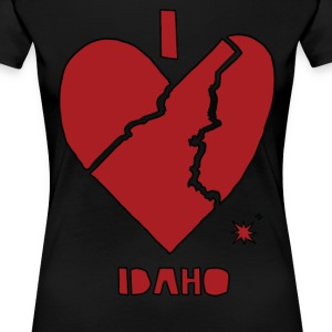 i heart Idaho (red) Women's T-Shirts - Women's Premium T-Shirt