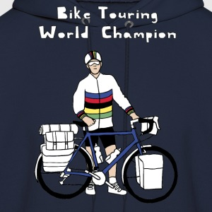Bike Touring World Champion Hoodies - Men's Hoodie