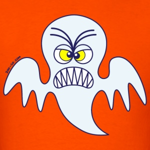 Scary Halloween Ghost T-Shirts - Men's T-Shirt