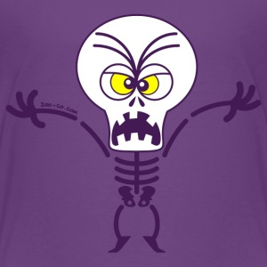 Scary Halloween Skeleton Baby & Toddler Shirts - Toddler Premium T-Shirt