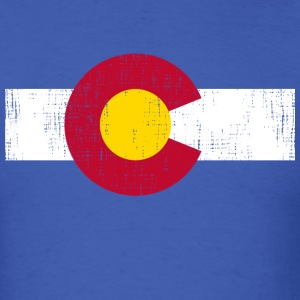 Colorado State Flag - Men's T-Shirt