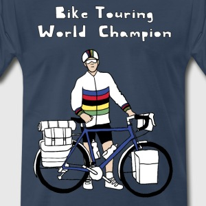 Bike Touring World Champion T-Shirts - Men's Premium T-Shirt