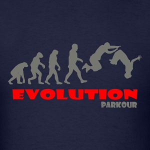 Parkour ape of Evolution - Men's T-Shirt