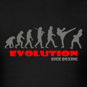 Kick boxing Boxer ape of Evolution - Men's T-Shirt