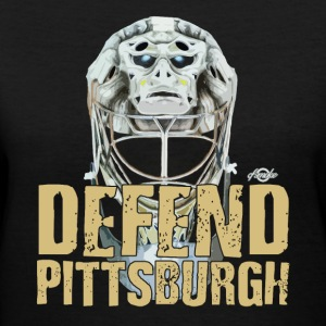 Defend Pittsburgh Women's T-Shirts - Women's V-Neck T-Shirt