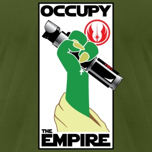 Occupy the Empire v2.1 - Men's T-Shirt by American Apparel
