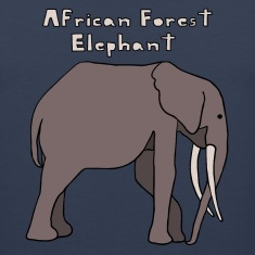 african forest elephant Men
