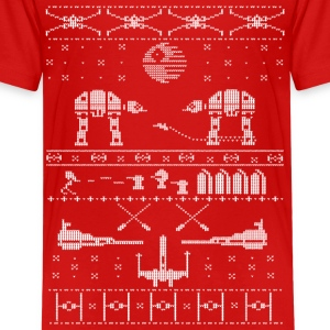 Star Wars X-Mas Sweater Satire Kids' Shirts - Kids' Premium T-Shirt
