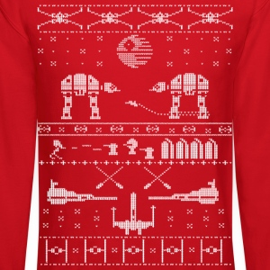 Star Wars X-Mas Sweater Satire Long Sleeve Shirts - Crewneck Sweatshirt