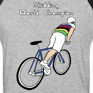 skidding world champion T-Shirts - Baseball T-Shirt