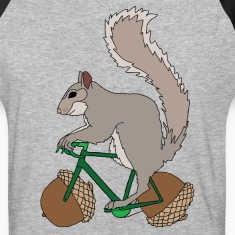 Squirrel on Bike with Accord Wheels T-Shirts