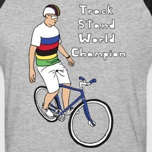 track stand world champion T-Shirts - Baseball T-Shirt