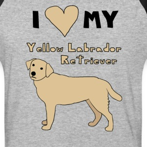 i heart my yellow labrador retriever T-Shirts - Baseball T-Shirt