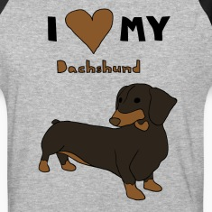 i heart my dachshund T-Shirts