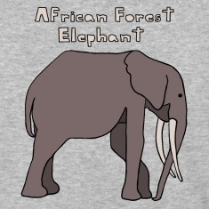 african forest elephant T-Shirts