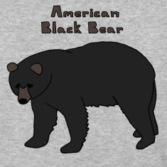 american black bear T-Shirts