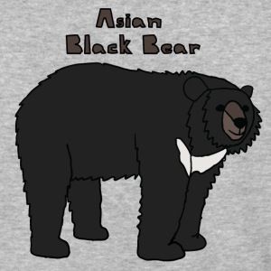 asian black bear T-Shirts - Baseball T-Shirt