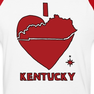 i heart Kentucky (red) T-Shirts - Baseball T-Shirt