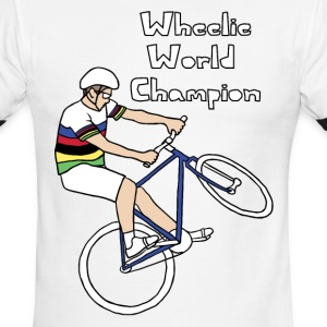 wheelie world champion T-Shirts - Men's Ringer T-Shirt