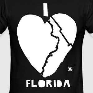 i heart Florida (white) T-Shirts - Men's Ringer T-Shirt