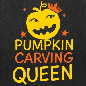 Pumpkin carving Queen for Halloween Bags & backpacks - Tote Bag