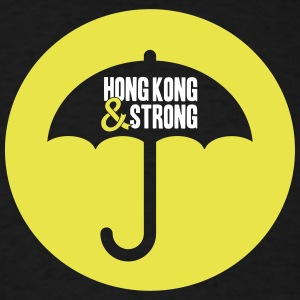 Hong Kong & Strong - Occupy Central Umbrella Rev. T-Shirts - Men's T-Shirt