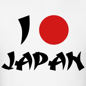 I Love Japan T-Shirts - Men's T-Shirt