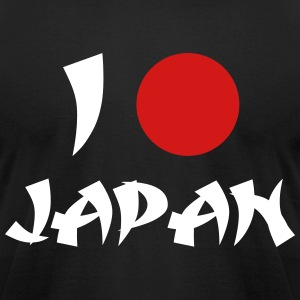 I Love Japan T-Shirts - Men's T-Shirt by American Apparel