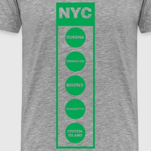 Kurt Boone NYC 5 Boro Collection T-Shirts - Men's Premium T-Shirt