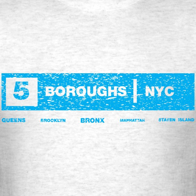 NYC 5 Borough Tee