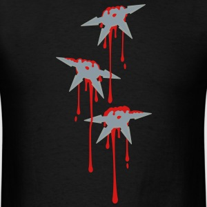 Shuriken Attack T - Men's T-Shirt