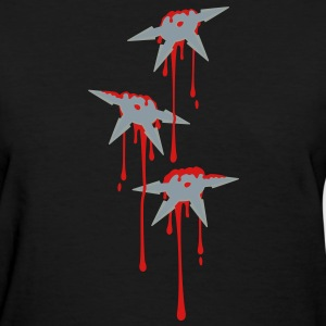 Shuriken Attack T - Women's T-Shirt