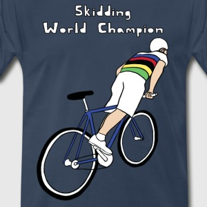 skidding world champion T-Shirts - Men's Premium T-Shirt