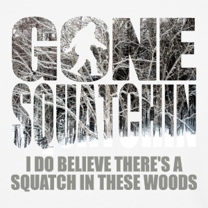 Gone Squatchin **Special Winter Edition** Shirt - Baseball T-Shirt
