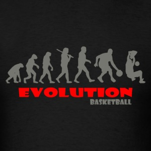 Basketball ape of Evolution - Men's T-Shirt