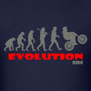 Ride Bike ape of Evolution Bike - Men's T-Shirt