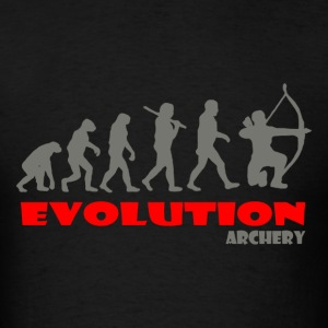 Archery ape of Evolution - Men's T-Shirt
