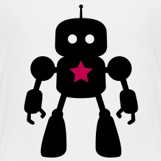 I Robot - Star Kids' Shirts