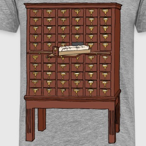 card catalog - Men's Premium T-Shirt