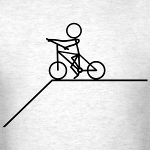 Cyclists - Steep Mountain T-Shirts - Men's T-Shirt