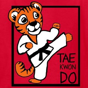 TKD Little TIger - Kids' T-Shirt