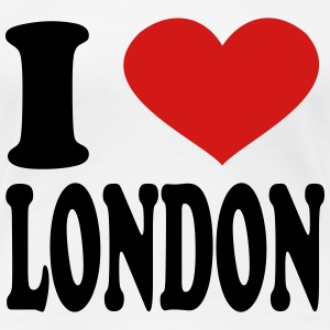 I Love London Women's T-Shirts - Women's Premium T-Shirt