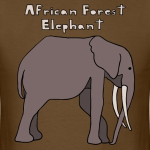 african forest elephant T-Shirts - Men's T-Shirt
