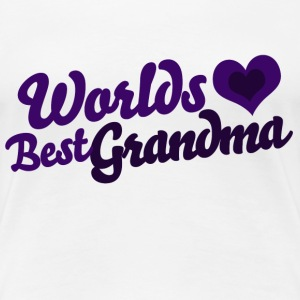 Worlds Best Grandma - Women's Premium T-Shirt