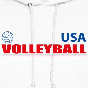 Volleyball USA Hoodies - Women's Hoodie