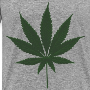 Cannabis Leafs - Men's Premium T-Shirt