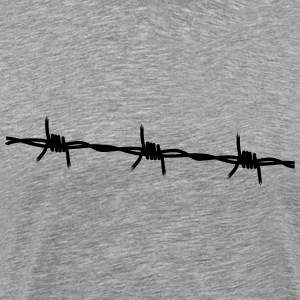 Barbed Wire - Men's Premium T-Shirt
